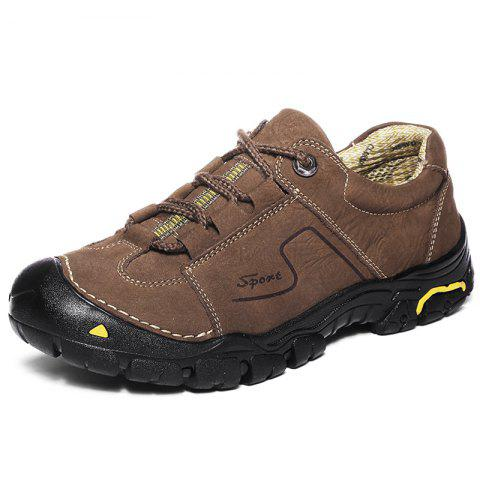 Hiking Shoes for Outdoor - BROWN EU 40