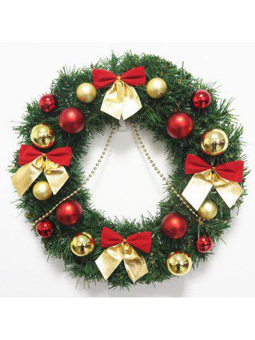 creative christmas wreath 30cm home decorating exquisite door hanging window props