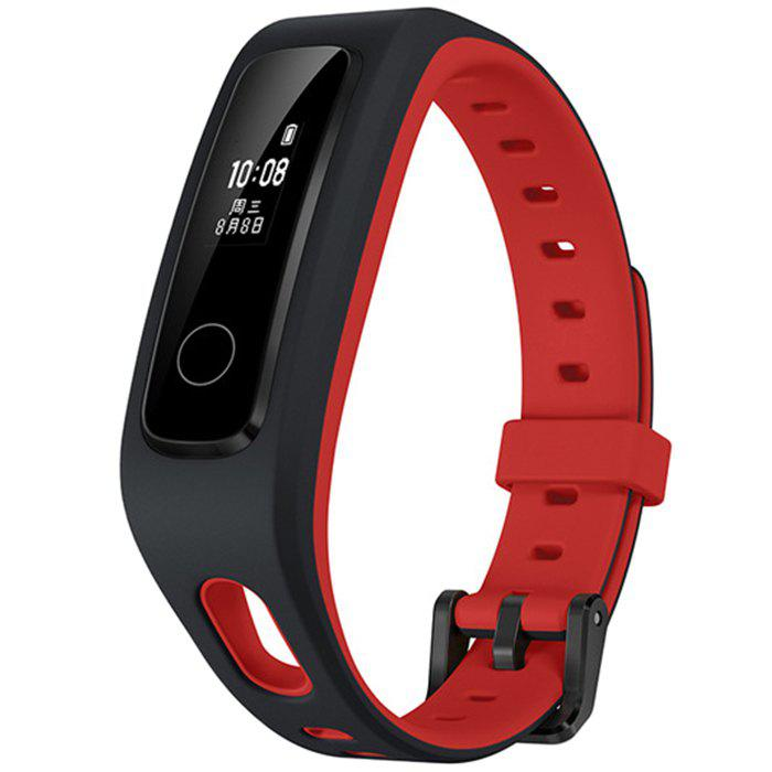 HUAWEI Running 4 Bracelet OLED Touch Control Color Screen 50 Meters Waterproof Heart Rate Intelligent Detection - RED