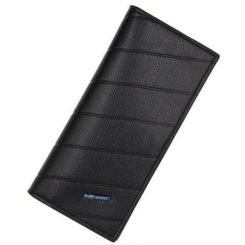 L886 - 4 Long Multi-card Multi-function Small Fashion Business Men's Wallet - NIGHT