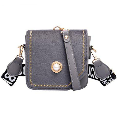 XF9901 Fashionable Youth Versatile Comfortable Mini Crossbody Bag - LIGHT SLATE GRAY