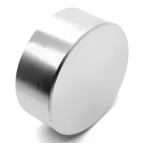 N42 D40 x 20 Round Magic Cube NdFeB Super Magnet - SILVER