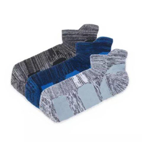 90FUN Men's Massage Socks from Xiaomi Youpin 3 Pairs - multicolor A