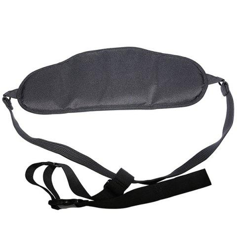 Hammock Soothing Fatigue Stretcher Door Hanging Neck Massager - BLACK