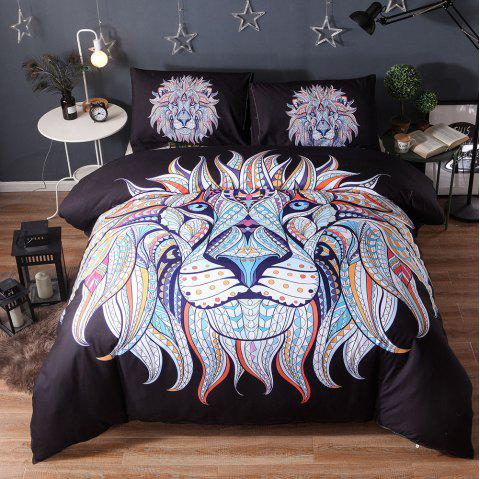 Famous Wind 3D Bedding Set 200x230cm 3pcs - multicolor B