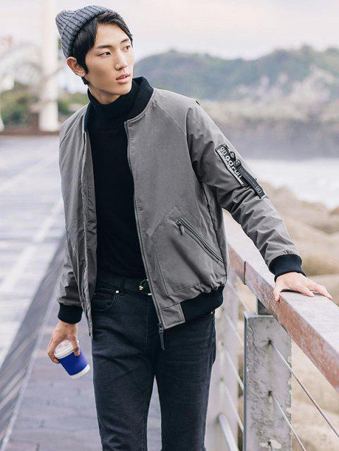 Men Comfortable Warm Down Jacket from Xiaomi Youpin - GRAY S