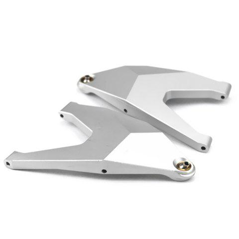 Remote Control Rear Axle Front Hem Arm Lever for KIDRACING TRAXXAS UDR 2 pcs - SILVER