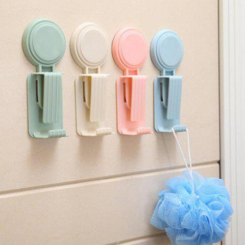 Kitchen Bathroom Toilet Strong Suction Cup Wash Hook - ANTIQUE WHITE