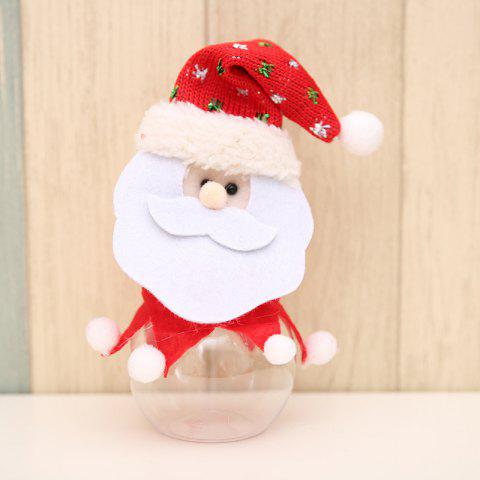 Christmas Decoration Fabric Doll Candy Box - multicolor A