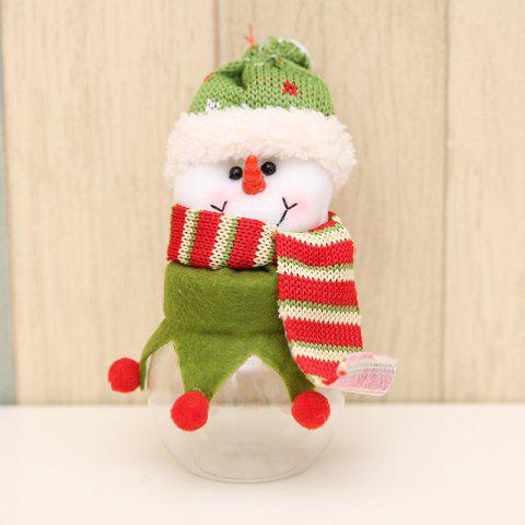 Christmas Decoration Fabric Doll Candy Box - multicolor B