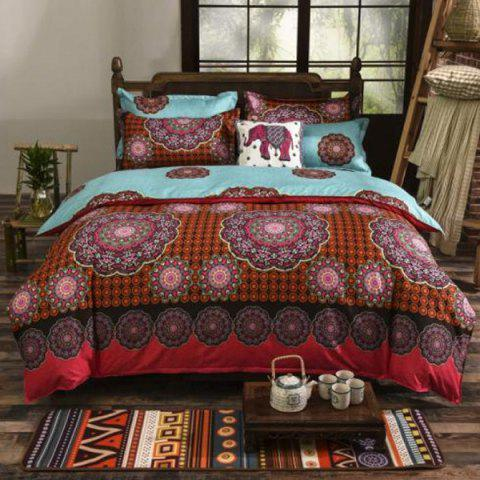 Printing Bedding Set National Wind 1.8m - multicolor B