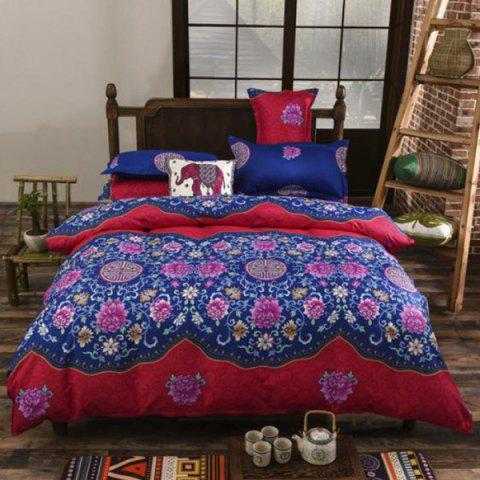 Printing National Style Bedding Set 2.2m - multicolor A