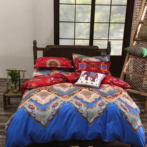 Printing National Style Bedding Set 2.2m - multicolor C