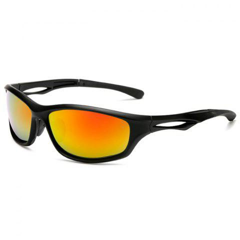 3279 Cycling Sports Polarized Glasses Color Film - multicolor A