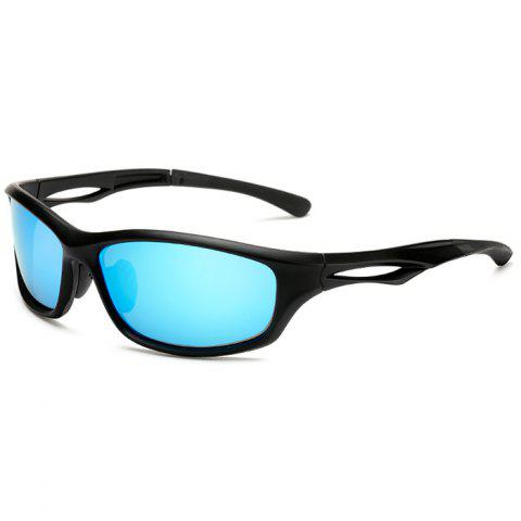 3279 Cycling Sports Polarized Glasses Color Film - DODGER BLUE