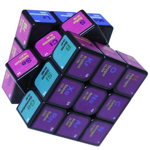 Cube Chimique d'Impression UV - multicolor A