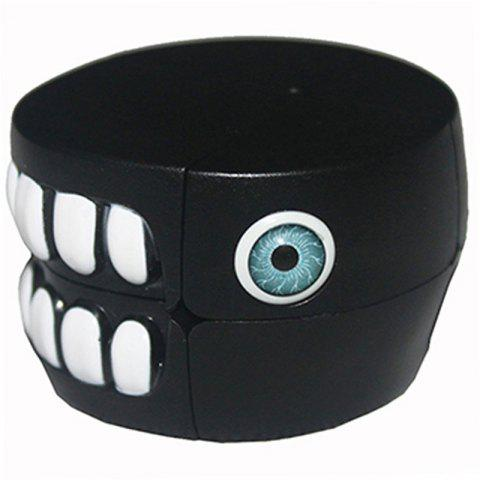 Alien Black Carni Jaw Magic Cube - BLACK