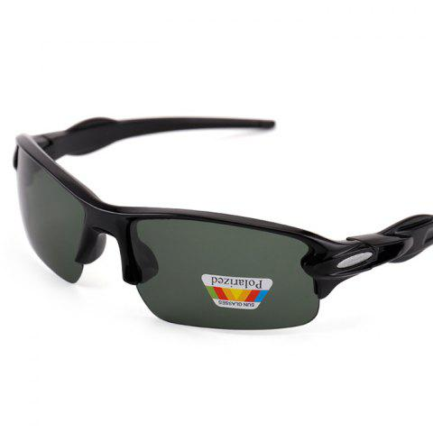 9271 Outdoor Riding Driving Eye Protection Polarized Sunglasses - multicolor C