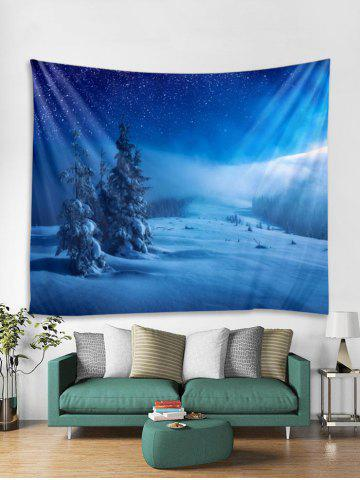 5cec3b7dd87 Snow Scene Pattern Tapestry Art Decoration