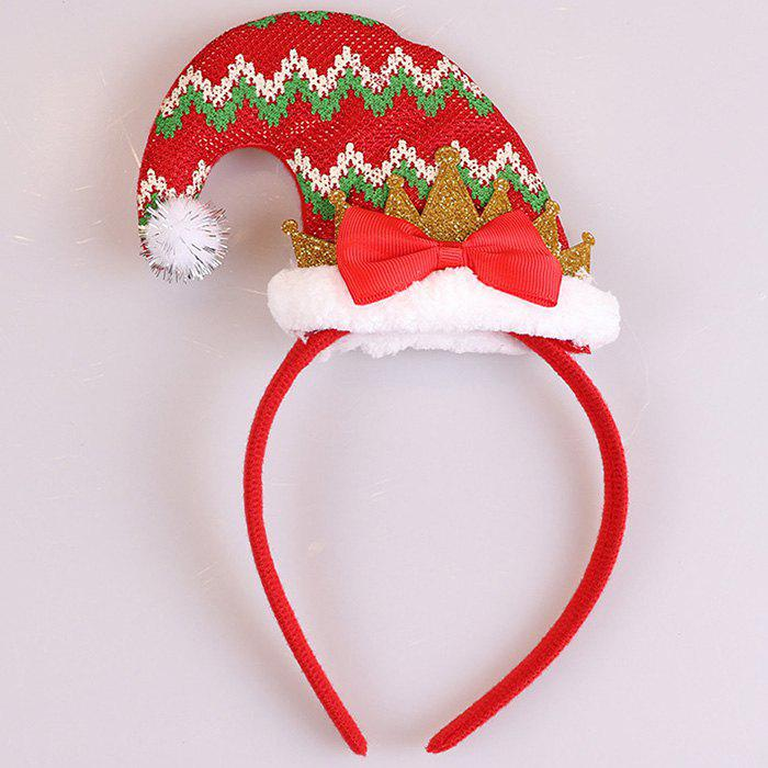 Christmas Decoration Adult Child Headband Head Buckle Show Props Headwear Gifts - RED DIAMOND