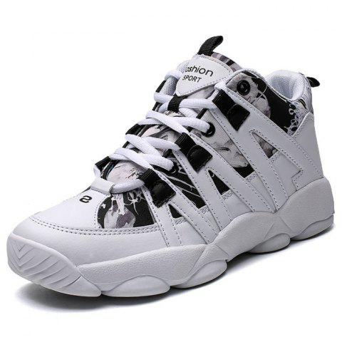 Female Durable Winter Warm Casual Shoes - WHITE EU 36