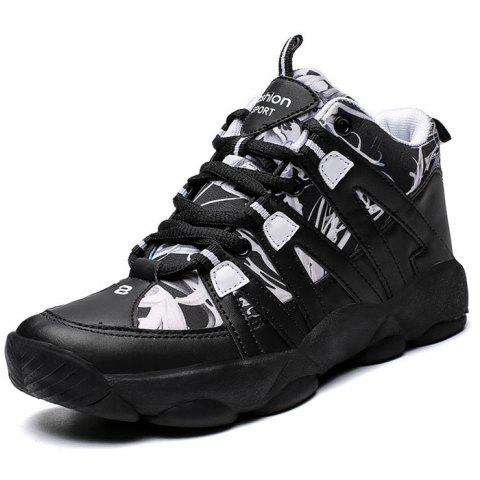 Female Durable Winter Warm Casual Shoes - BLACK EU 36