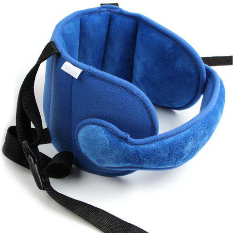 Baby Head Fixing Tool Child Car Seat Sleep Auxiliary Belt - BLUEBERRY BLUE