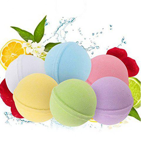 Boule de sel pour le bain Aromatherapy Essential Manual 6pcs - multicolor A