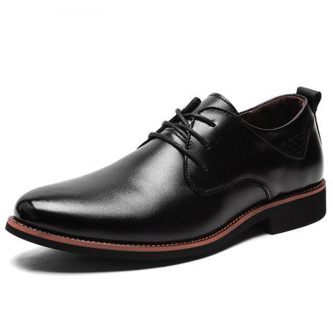 17 off 2019 men's formal leather shoes business rubber
