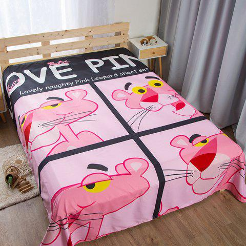 Student Dormitory Personality Weird Bed Sheet - multicolor D