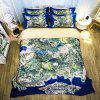 Cartoon Jedi Survival Realistic Map Bedding Set 1.2m Bed Sheet Style - multicolor C