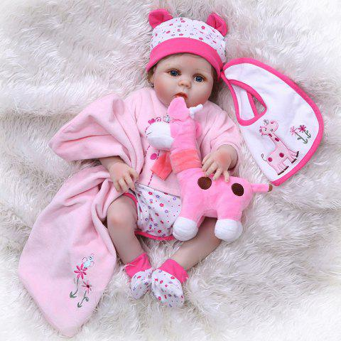 NPK Realistic Full Silicone Reborn Baby Doll Toy - PINK
