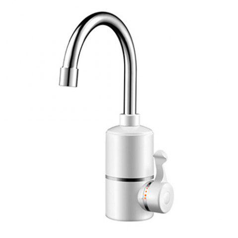 JDS - 4D1 Kitchen Special Hot Cold Faucet Fast Electric Faucet 3KW - WHITE WATER FROM BELOW