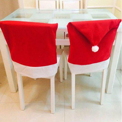 Christmas Big Chair Cover 8PCS - RED
