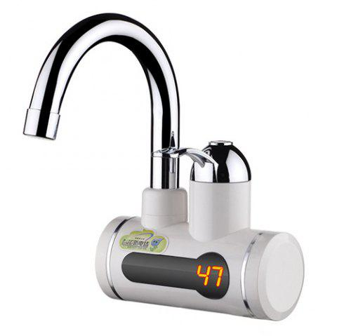 Instant Digital Electric Kitchen Special Water Faucet 3KW - WHITE WATER FROM BELOW