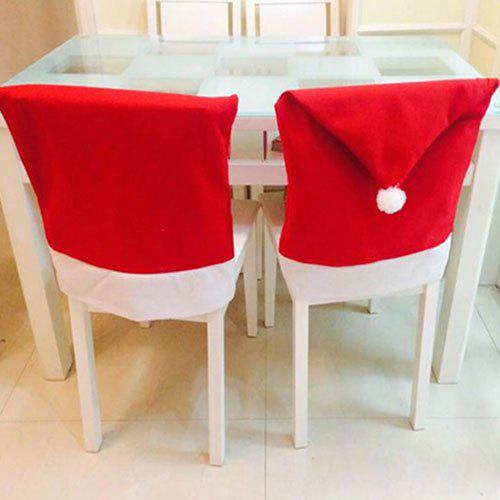 Christmas Big Chair Cover 10PCS - RED