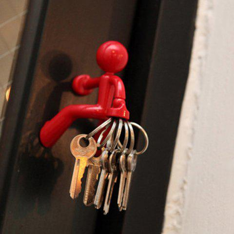 Creative Cartoon Strong Magnetic Key Hanging - RED