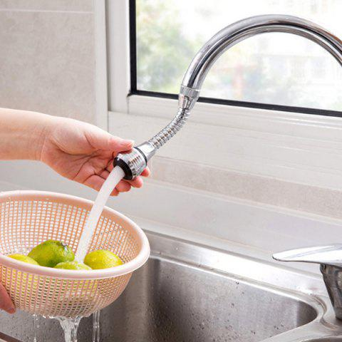Kitchen Extended Shower Spray Faucet - SILVER