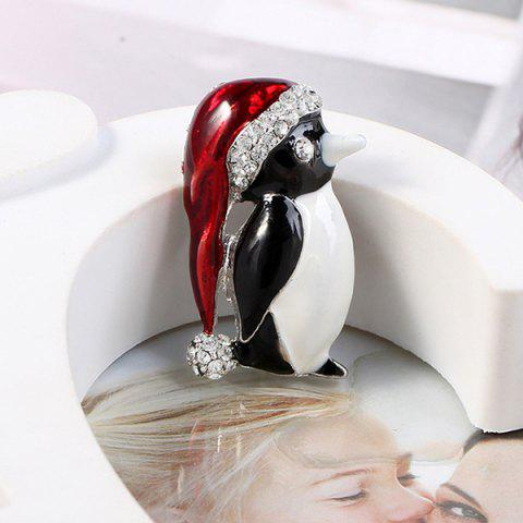 Fashion Animal Cartoon Cute Christmas Brooch - multicolor F