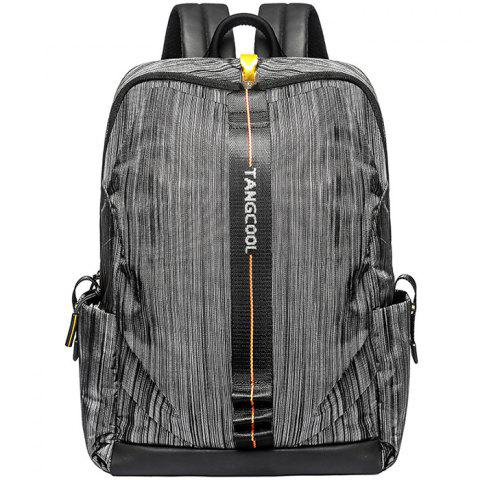Tangcool 8007 Men's Fashion Trend Student Camouflage Backpack - BATTLESHIP GRAY