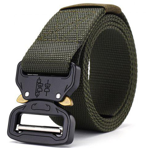 Stylish Multi-function Nylon Outdoor Training Belt 115cm - ARMY GREEN