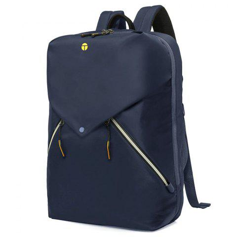 Tangcool 8013 Men's Backpack USB Fashion Casual Personality - DARK SLATE BLUE