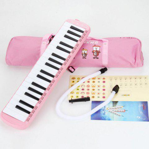 37-key Teaching Children Students Play Beginner Tone Piano - LIGHT PINK REGULAR