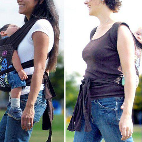 15 - TY3144 - P37.5.06 American Dandelion Baby Carrier Sling - MIDNIGHT
