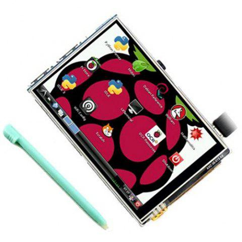 3.5 Inch Raspberry Pi 3B+ Display Raspberry Pi 3B+ Touch Display Plus Touch Pen - multicolor A