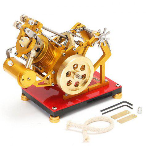 V1 - 45 Engine Model Educational Discovery Toy Kit Collection Gift for Children - GOLD
