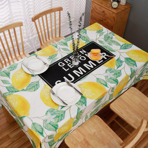 Nordic Small Fresh Style Rectangular Dining Tablecloth - multicolor E 01