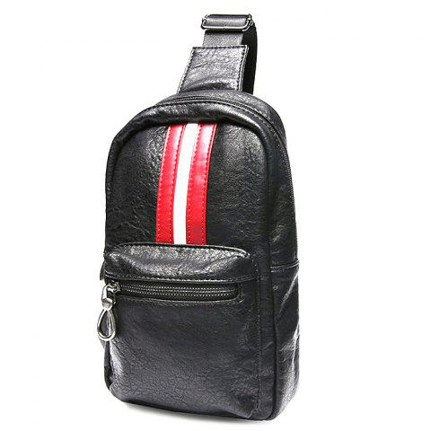 Fashion Outdoor Leisure Chest Bag - BLACK