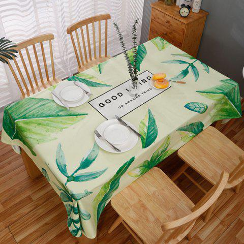 Nordic Small Fresh Style Rectangular Dining Tablecloth - multicolor B 04