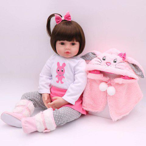 NPK Soft Real Touch Silicone Rebirth Baby Birthday Christmas Gift - PINK